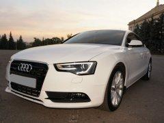 Audi A5 Sportback белый