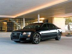 Audi A8 черный