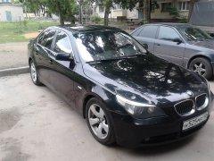 BMW 5 Series E60 черный