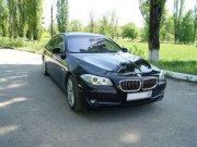 BMW 5 Series F10 черный