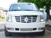 Cadillac Escalade белый жемчуг