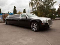 Chrysler 300C Silver-Black Queen черный