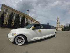 Chrysler PT Cruiser белый