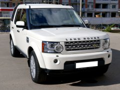 Land Rover белый