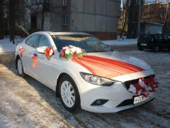 Mazda 6 белый