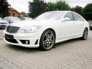 Mercedes-Benz S500 белый
