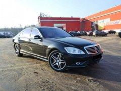 Mercedes-Benz S500 черный